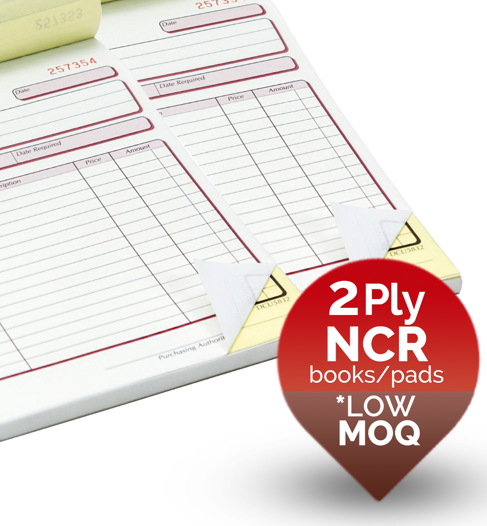 2 ply NCR Forms