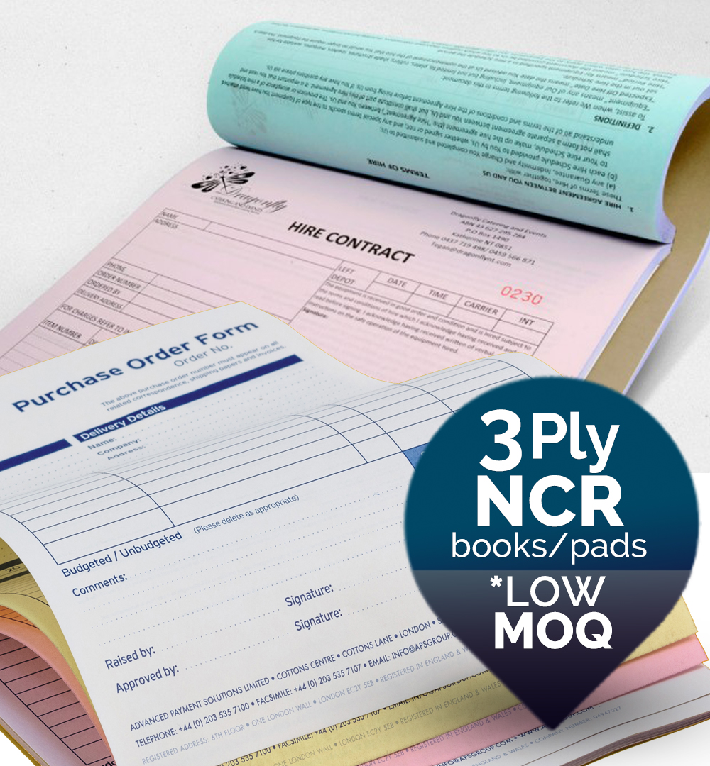 3 ply NCR Forms