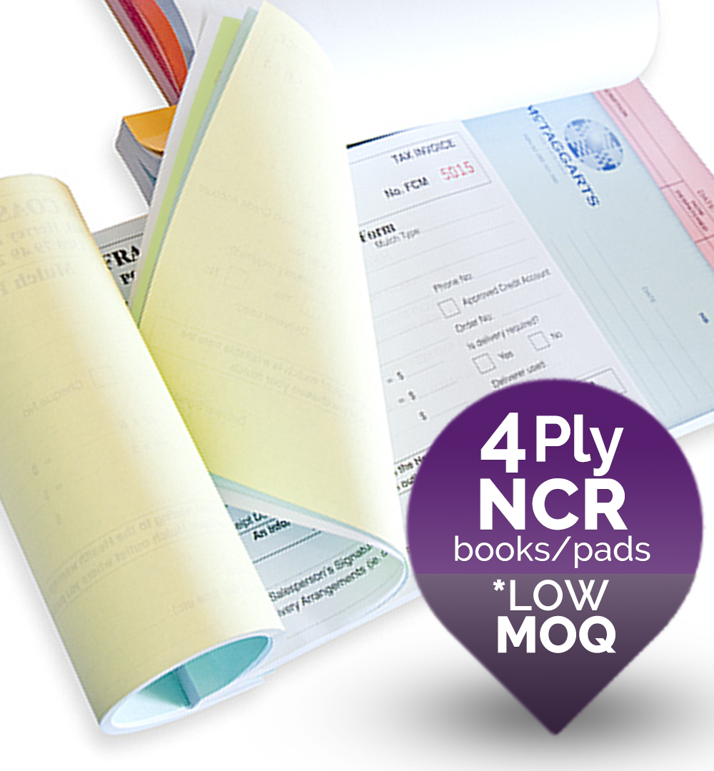 4 ply NCR Forms