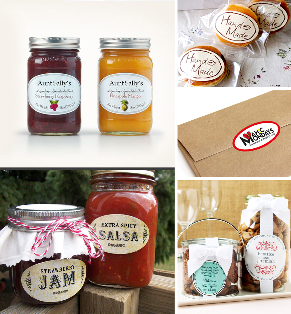 oval labels for your packaging needs