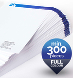Min order 300pc full colour letterhead