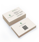 Premium Uncoated Business Cards