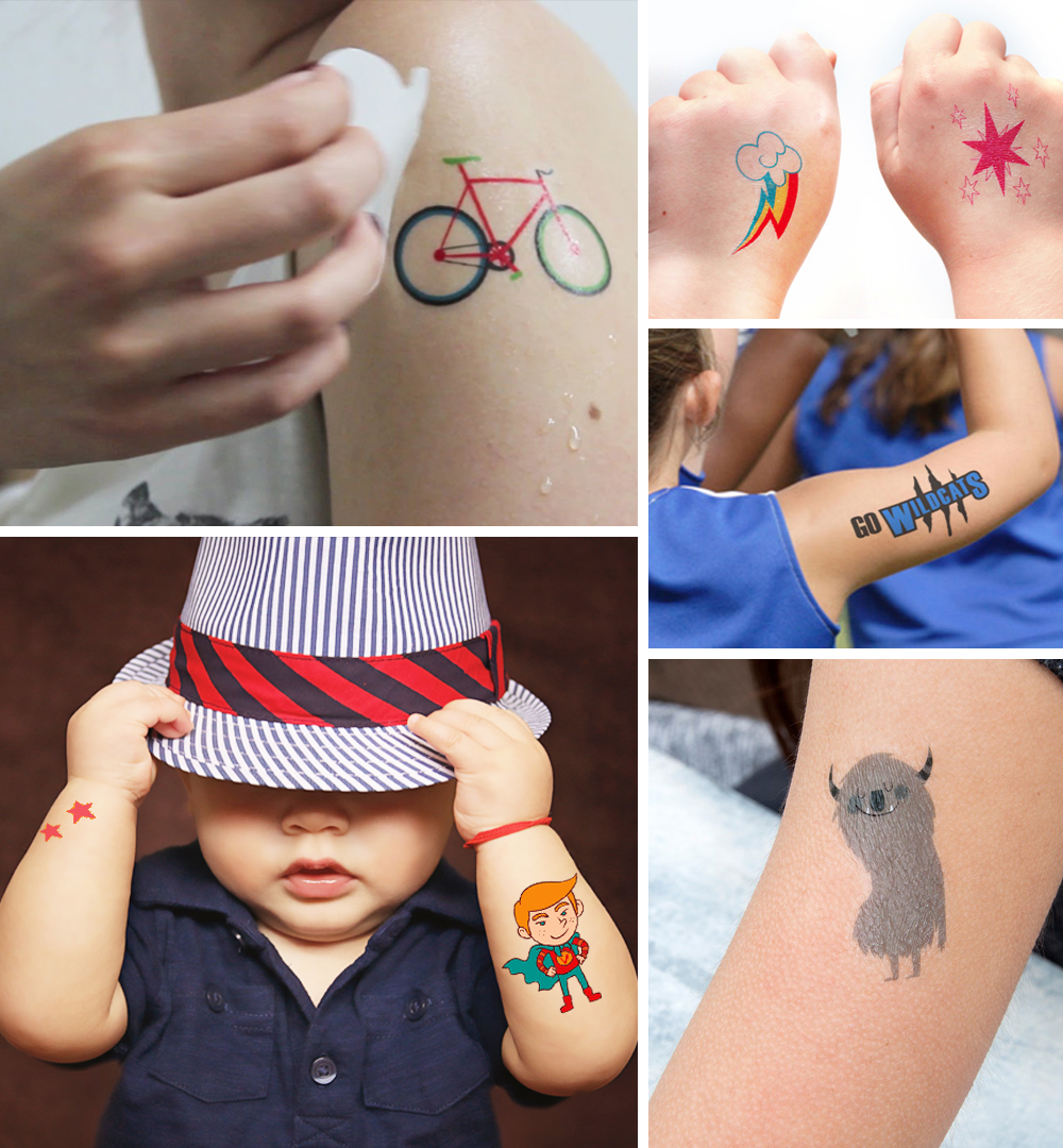 Level up your party with tattoo stickers